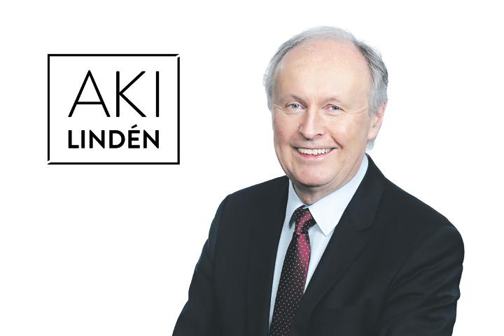 aki linden ehdolla eduskuntaan vaaleissa 2019